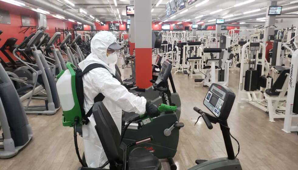 Gym Disinfecting